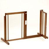 「システムゲート BF 80 アクリル」ペットゲート 犬 ゲート 木製 室内 ドア付き 自立型