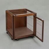 『ペットケージ FR 60 SS メッシュA』おしゃれ 小型犬 木製 室内 サークル・ケージ サークル・ゲージ