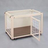 『ペットケージ FR 60 XS メッシュA』犬 ゲージ 犬 ケージ おしゃれ 小型犬 木製 室内 サークル・ケージ サークル・ゲージ