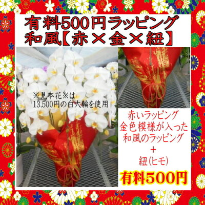 【有料500円】赤和風(赤×金×紐)