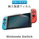 【予約】ニンテンドースイッチ ブルーライトカットフィルム 液晶保護フィルム 液晶保護 画面保護 Nintendo Switch 任天堂スイッチ テレビゲーム