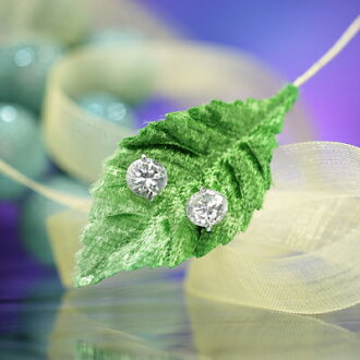 Brightness ☆ cue BIC zirconia pierced earrings / circle of the highest grade