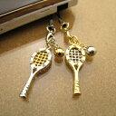 【ミニチュア ストラップ】ファンタジアスポーツ携帯ストラップ/テニスラケット