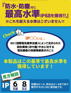 IP68防水ケース