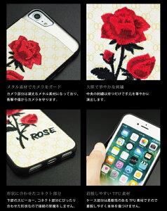 iPhoneXケースiPhone8plusケースiPhone7ケースバラ薔薇花柄刺繍caseiPhone6sケースiPhone6plusケースカバー