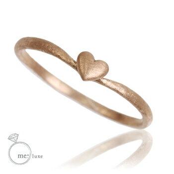 me. ハート 華奢リング【リング】【ring】【指輪】【ゆびわ】
