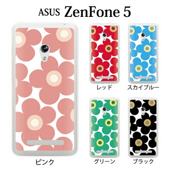 ZenFone 5(A500KL)花for ASUS ZenFone 5[然後電話5箱zenfone5箱蓋asus zenfone 5覆蓋物鰩魚休][智慧型手機覆蓋物智慧型手機情况]