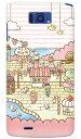 【スマホケース スマホカバー】uistore 「Sweets Shop」 / for MEDIAS X N-04E/docomo【メディアス ケース/カバー/CASE/ケ?ス】【スマートフォン ケース カバー】【日本製 SECOND SKIN】 / n04e ケース カバー