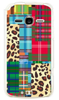 Patchwork (clear) design by ROTM / for ARROWS Me F-11D/docomo / f11d cover