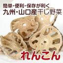 【山口・九州産】干し野菜(乾燥野菜)れんこん 50g - きらきらキッチン