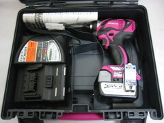 送料無料!予備電池抜き 日立 14.4V コードレスインパクトドライバ WH14DBAL2 パワフルレッド