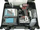 マキタ18V充電式インパクトドライバTD170D(オーセンティック・レッド)【6.0Ah電池2個仕様】