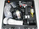 [1台限定]日立50mm高圧ロール釘打機NV50HR(SGK)[銀鏡]パワー切替機構付[エア工具]