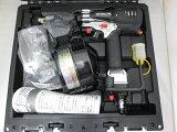 [1台限定]日立65mm高圧ロール釘打機NV65HR(SGK)[銀鏡]パワー切替機構付[エア工具]
