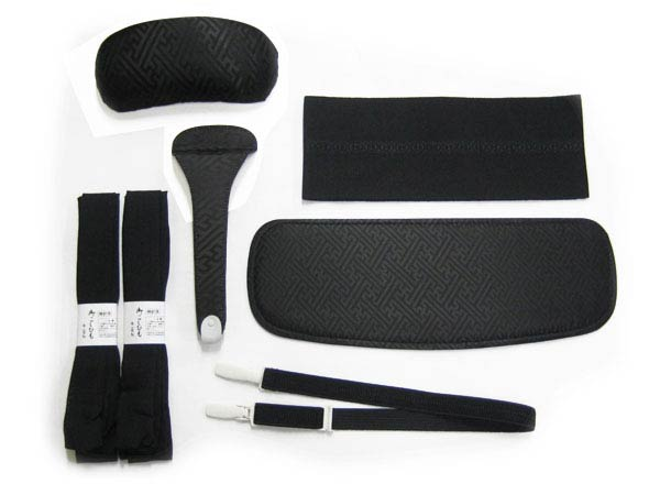 ★ easy kimono dressing 6 tighten 7-piece set ★ Strip, belt pillow, ITA, Colin belt 帯どめ, belt x 2
