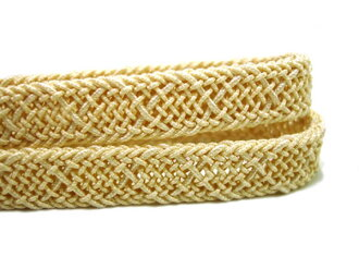 The texture that the ラミエール obi cord Teijin material looks cool in the summer