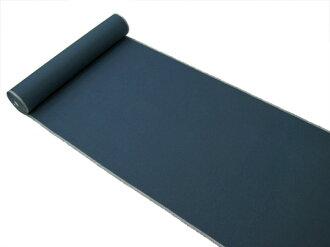 ★Original pongee standard length of cloth for kimono ★ 本場眞綿雅生織結城紬 ★ navy