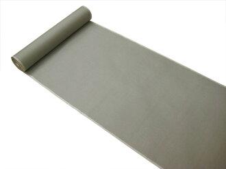 ★Original pongee standard length of cloth for kimono ★ 本場眞綿雅生織結城紬 ★ gray