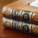 イギリス製 ティッシュボックス ブック型 置物【送料無料】ティッシュケース おしゃれ インテリア 雑貨 クラシック 置物 ヨーロッパ雑貨 アンティーク雑貨 インポート雑貨 2
