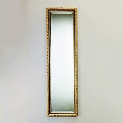 イタリア 姿見 ミラー ブラック&ゴールド 鏡 壁掛けアンティーク 姿見 全身鏡 姿見 ...