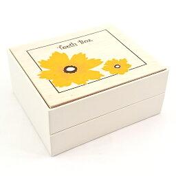 乳歯ケース 日本製 乳歯入れ TEETH BOX 木 フラワー