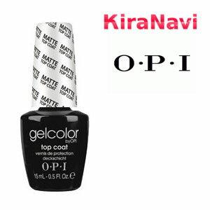 OPI GC031 ジェルカラー マットトップコート 15ml