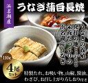 【御中元】 浜松・浜名湖 うなぎ 蒲焼 白焼 110g 4尾セット 国産