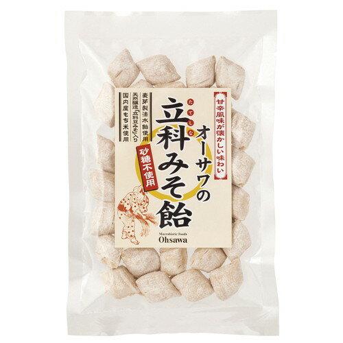 オーサワの立科みそ飴(切飴) 120g 【オーサワジャパン】