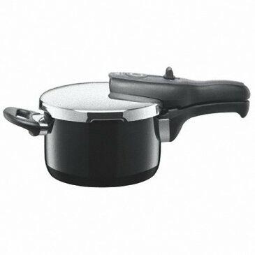 シラルガン圧力鍋 シコマチックTプラス2.5 ブラック 【ハロゲンヒーター、電磁調理器、シーズヒーターにも適応】 ※長期欠品(入荷時期未定)※