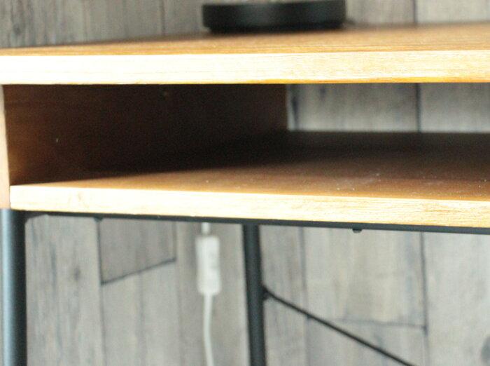 ■アンティーク加工デスクZAGA■おしゃれPCデスク人気パソコンデスク学習デスクオフィスデスクワークデスク学習机勉強机天然木桐材木製ヴィンテージレトロZAGAザガデスクワンルームマンション一戸建て新婚3人4人2人ナチュラル