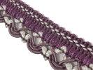 NO.5331手芸用ブレード紫色パープル幅2cm×長さ2m巻き