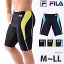 FILA(フィラ) メンズ フィットネス水着 男性用 ひざ丈...