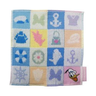 ≪≫ 小毛巾(毛巾手帕)<馬林瓷磚>[Disney,外出,餐巾]