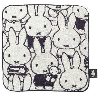 ≪≫ 小毛巾(毛巾手帕)<burakkuorumiffi>[黑,miffy,usakochan]