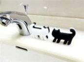 ネコピカメラミンスポンジ6個入り猫型スポンジねこ型メラミンフォーム映え掃除用スポンジネコ型スポンジ