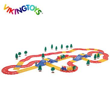 VIKINGTOYS バイキングトイズ バイキングシティレイル コンプリートセット 156083[キッズ・男の子に人気の乗り物のおもちゃ クリスマスプレゼントやお誕生日のギフトにおすすめ]