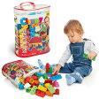 Clemmy plus クレミー プラス 60個パック[柔らかいブロックのおもちゃ 男の子・女の子におすすめの玩具 水洗いできて衛生的 1歳半からの知育玩具 ブロック遊びのボックス]【ポイント1倍】