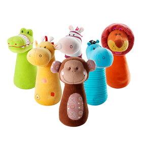 リリピュションNEWサファリボウリングTYLL86281[幼児の知育玩具にボウリング(ボーリング)の布のおもちゃ(玩具)誕生日プレゼントやクリスマスプレゼントに動物の布製(布)のおもちゃ]【ポイント10倍】