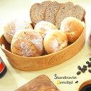 スカンジナビスクヘムスロイド ブレッドバスケット 0129-009 Skandinavisk Hemslojd[北欧の職人が作ったパンのバスケット(木製 かご)で食卓をおしゃれに] 即納