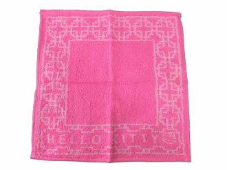 Hello Kitty/基梯☆毛巾手帕/小手帕/上幼兒園、上學時的必須的項目/人物手帕/刺綉手帕