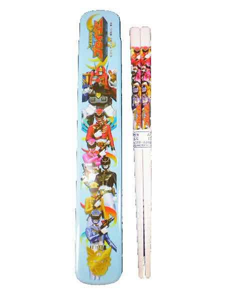 天装戦隊ゴセイジャー★箸・箸箱セット/箸が簡単に取り出せる!◇日本製◇