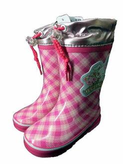 小孩/小孩/女人的孩子☆杰維爾寵物雷恩長筒靴/橡膠長筒靴/雨鞋/高筒靴◇MOONSTAR◇