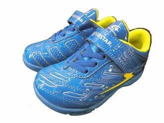 小大明星小孩/MOONSTAR[小孩鞋]魔術運動鞋足球鞋跑步鞋男人的孩子發條的力量SUPERSTAR SS k666運動鞋◇16.0cm17.0cm18.0cm◇