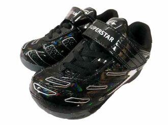 小大明星小孩/MOONSTAR魔術運動鞋足球鞋跑步鞋男人的孩子發條的力量SUPERSTAR SS k666運動鞋◇16.0cm17.0cm18.0cm◇