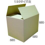 120サイズ激安白ダンボールケース
