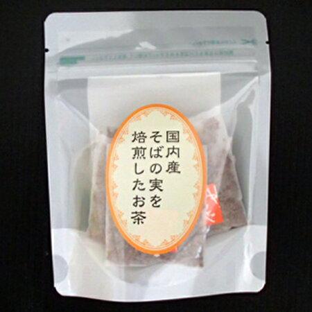 日穀製粉国内産そば茶ティーバッグ10袋入