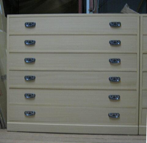 桐たんす 着物 収納 総桐整理箪笥6段・特注品 製造直売 商品番号3382-2