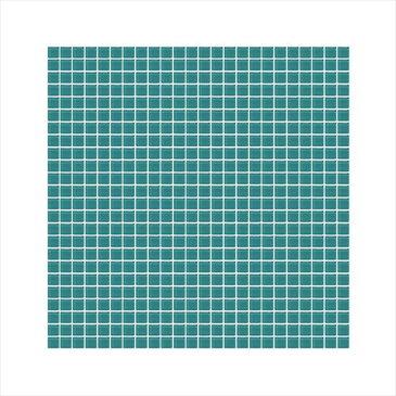 オンリーワン モザイクガラス ガラスタイルシート 単色 10角 7003 KG2-S7003 2枚入り