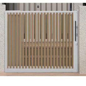 リクシルTOEXアウタースライドC型戸当たり柱使用15-12引き戸『リクシル』マテリアルカラー