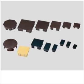 グローベン 構造部材 角パイプ用キャップ アルミ角柱用 60×60 A50LKA060B 『外構DIY部品』 茶